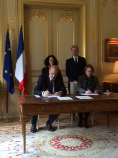 UKSA and CNES sign UK-French agreement on MicroCarb joint satellite mission