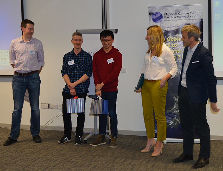 Researchers' Forum 2018 presentation winners